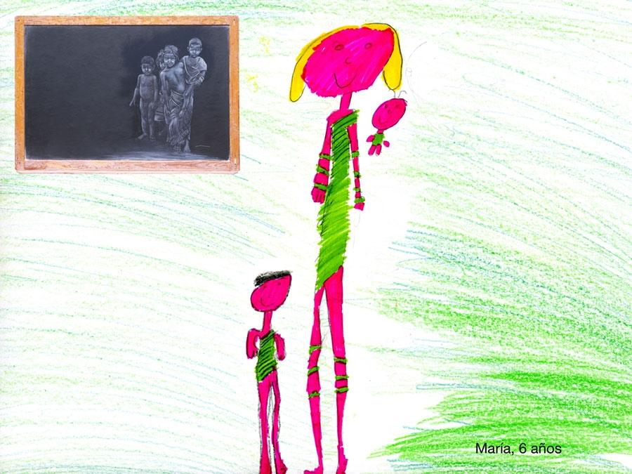 Dibujos Con Cuadros.Dibujos De Los Cuadros Realizados Por Ninos As Siro Lopez