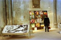 2 Exposición de Siro López en la iglesia románica de San Martín, Köln (ALEMANIA) 1996