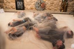 Inauguración de la exposición de Siro López en la sala de La Muralla, Gobierno de Aragón, Teruel 2017