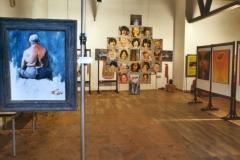 Exposición de Siro López en la Universidad Carlos III, Madrid, .2002