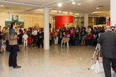 Exposición de Siro López en la Biblioteca Museo Villarrobledo (Albacete) 2007
