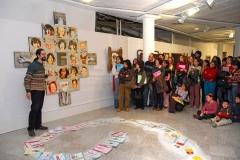 2 Exposición de Siro López en la Biblioteca Museo Villarrobledo (Albacete) 2007