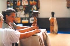 Exposición de Siro López en el Euroforum Hechtel, BÉLGICA 1998