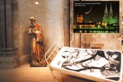 Exposición de Siro López en la iglesia románica de San Martín, Köln (ALEMANIA) 1996