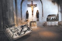 3 Exposición de Siro López en la iglesia románica de San Martín, Köln (ALEMANIA) 1996