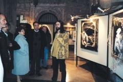 Exposición de Siro López en el Monasterio de San Juan, Burgos, 1999