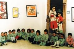 Exposición de Siro López en Foz, 1994