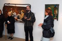 Exposición de Siro López en Santa María del Páramo (León) 2011