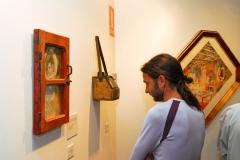 Exposición de Siro López EN EL Centro Joaquín Roncal, Zaragoza 2013