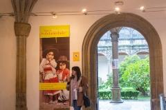 Exposición de Siro López en el Palacio de Fonseca, Santiago de Compostela 2015
