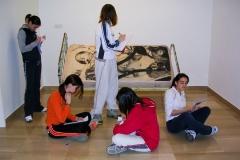 Exposición de Siro López en Caja España Valladolid 2005