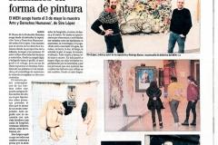 El Mundo El correo de Burgos Derechos Humanos en forma de pintura Siro López