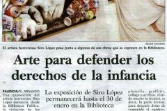 Arte para defender los derechos de la infancia Siro López Palencia