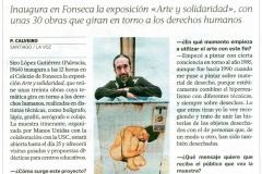 Uno las historias de objetos y de personas desechadas La Voz de Galicia Siro López