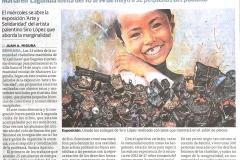 Los niños de El Gallinero traen arte El Diario Vasco Siro López