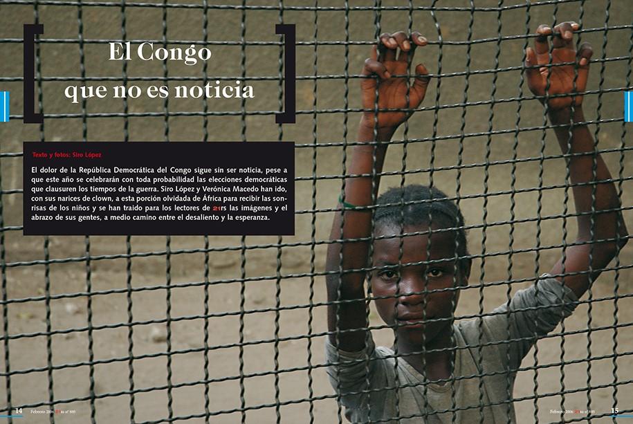 El Congo que no es noticia