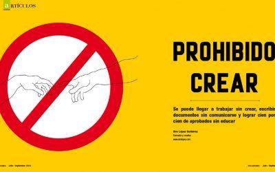 Prohibido Crear