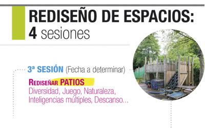 Rediseño de espacios educativos 4 Sesiones